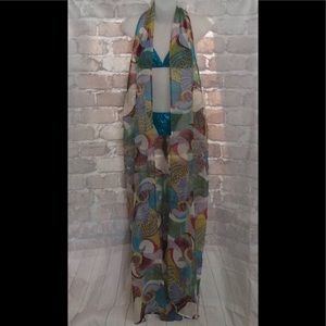 Have Faith Swimgerie Peacock Flow Robe